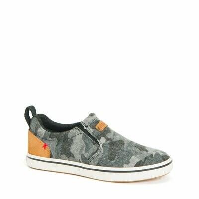 Xtratuf  W's Sharkbyte Deck Shoe Grey Camo Canvas