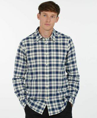Barbour M's Sealton Shirt Washed Navy