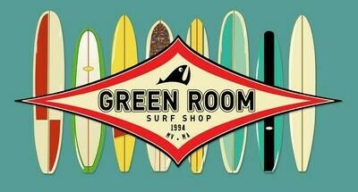 Green Room M's Longitude Hoodie Slate Blue