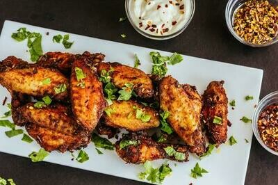 CHICKEN WINGS 40ct ANTBIO FREE