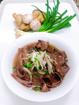 307- Well-done Beef Rice Noodle Soup