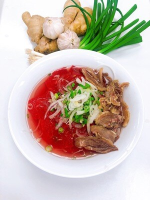 313- Rare Beef and Tendon Brisket Rice Noodle Soup