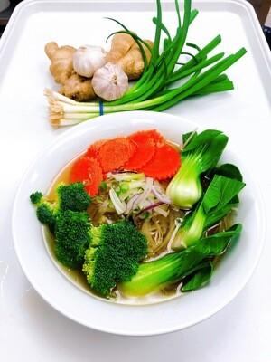 304- Vegetable Rice Noodle Soup