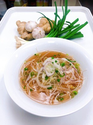 320- Plain Rice Noodle Soup