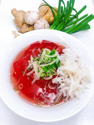 312- Rare beef and Beef Tripe Rice Noodle Soup