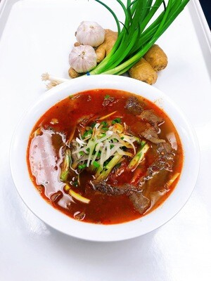 302- Rice Noodle soup in Satay sauce