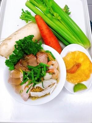 201- Egg Noodle Soup