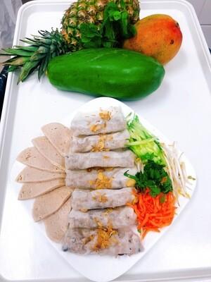110- Steamed Rice Flour Rolls