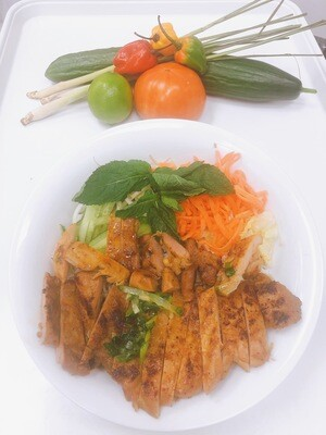 408- Vermicelli with Grilled Chicken