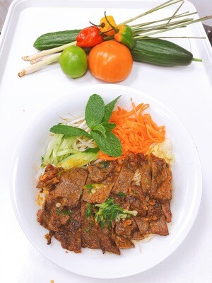 410- Vermicelli with Grilled Beef
