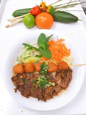 403- Vermicelli with Grilled Beef (Plus One Item)