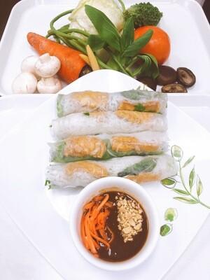 602- Vegetable and Tofu Fresh Rolls