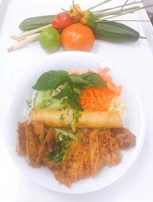 402- Vermicelli with Grilled Chicken (Plus One Item)