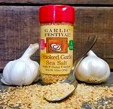 Smoked Garlic Sea Salt