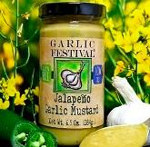 Jalapeno Garlic Mustard