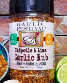 Chipotle & Lime Garlic Rub