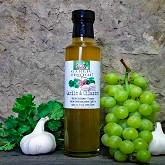Garlic & Cilantro Infused White Balsamic Vinegar