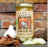 Smoked Pickled Garlic 8 oz.