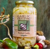 Jalapeno Pickled Garlic Grande 32 oz.