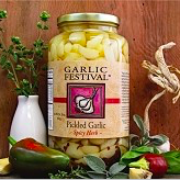 Spicy Herb Pickled Garlic Grande 32 oz.