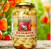 Habanero Pickled Garlic Grande 32 oz.