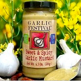 Sweet & Spicy Garlic Mustard