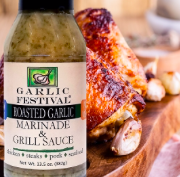 Roasted Garlic Marinade & Grill Sauce 13.5 oz.