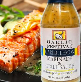 Garlic & Lemon Marinade & Grill Sauce 13.5 oz.