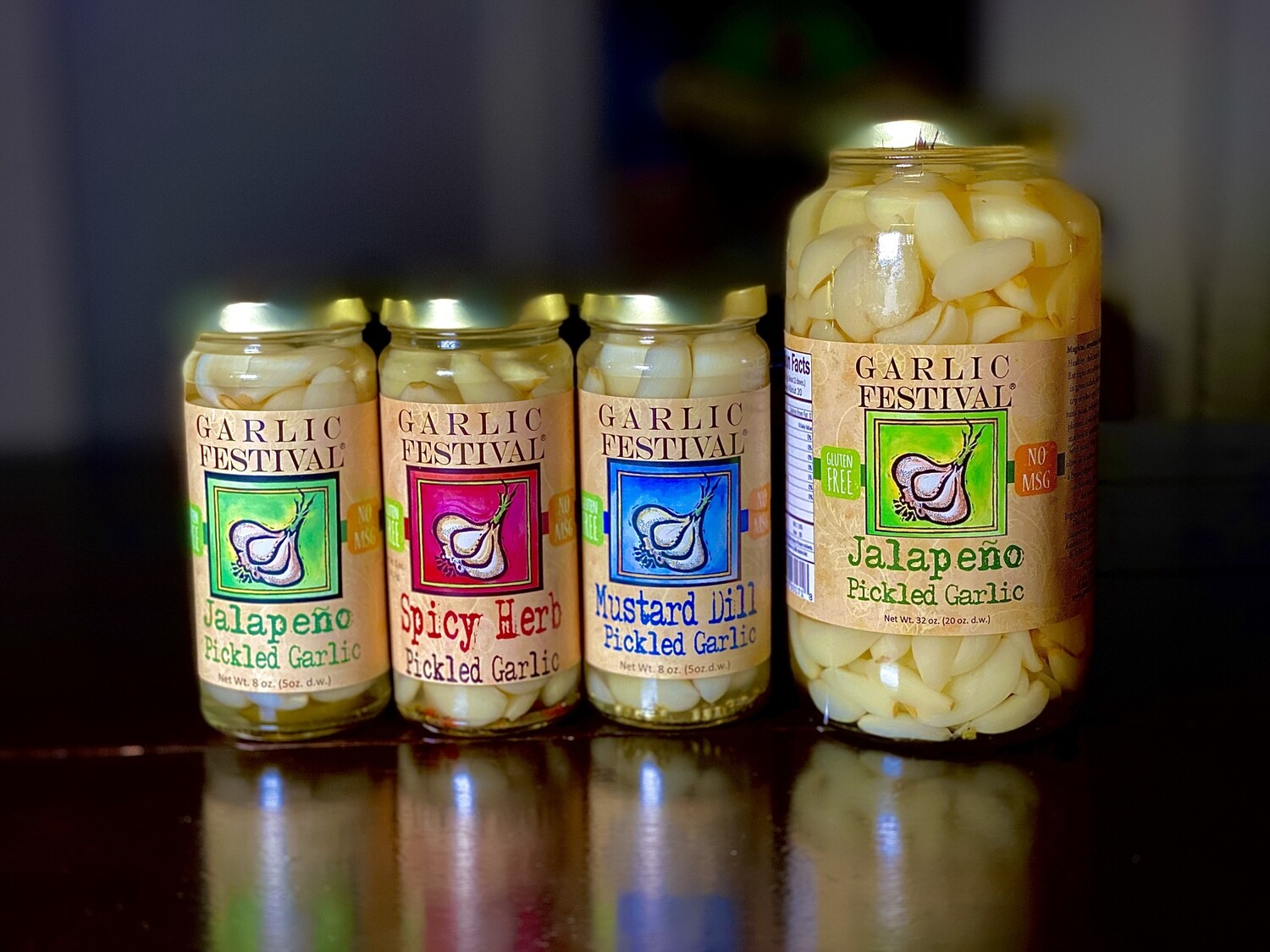 Pickled Garlic Combo #1 - $5 OFF at checkout or FREE SHIPPING. See the note in the Description.