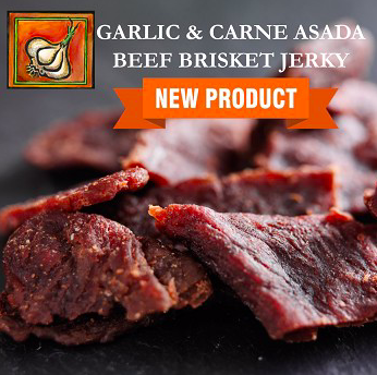 Garlic & Carne Asada Beef Jerky