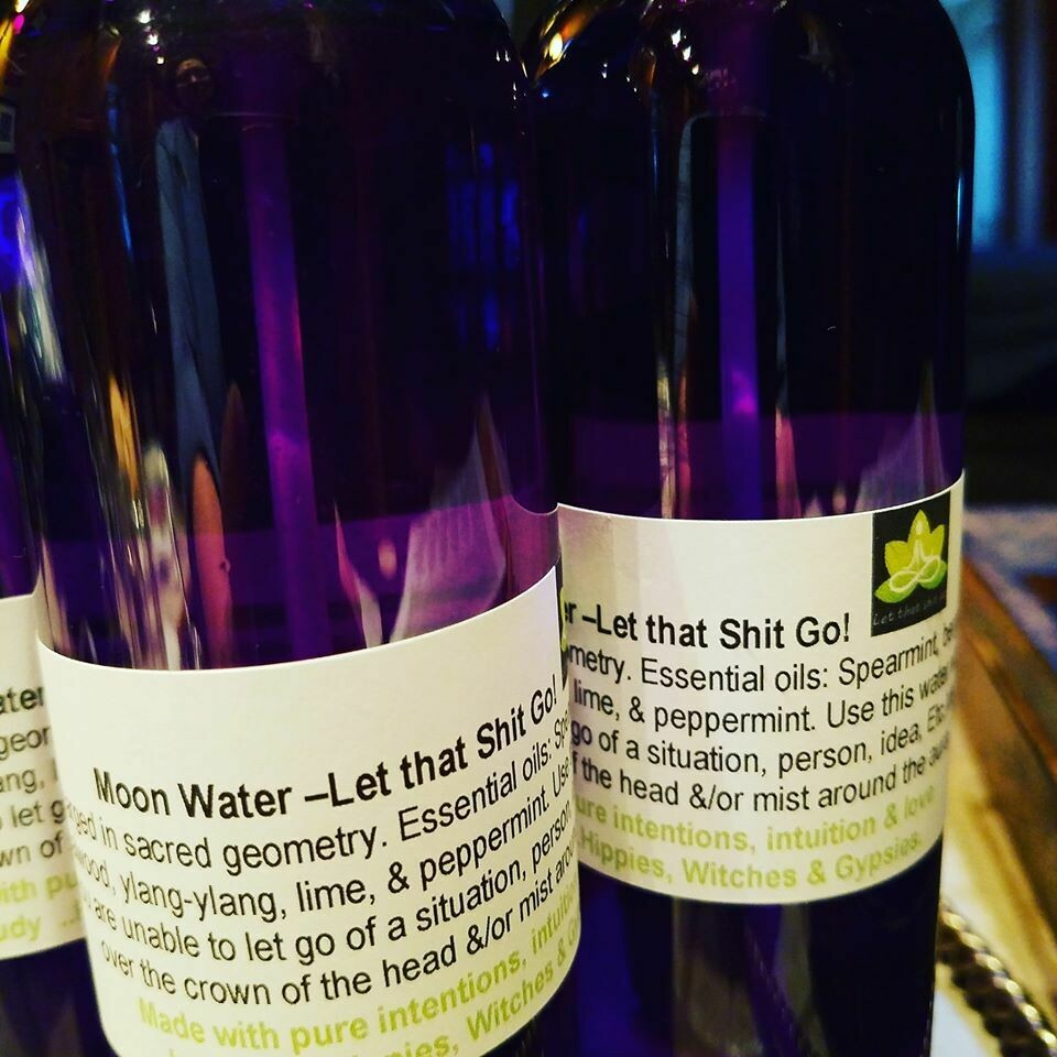 Moon Water- Let That Shit Go! 4oz