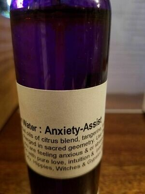 Moon Water-Anxiety Assist  4oz