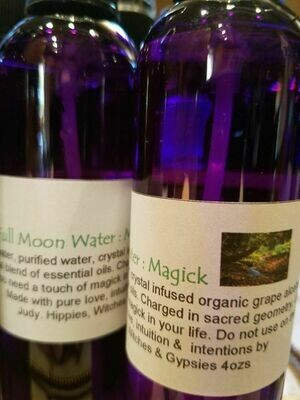Moon Water -Magick 4ozs.