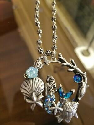 Mermaid/Ocean Necklace (ON SALE ) Regular $ 102.95