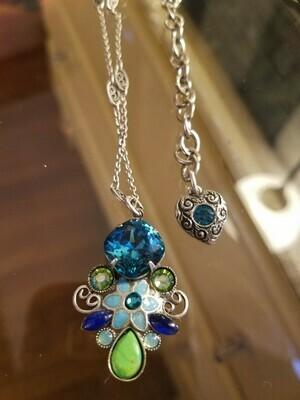 Bejeweled Floral Necklace (ON SALE) Regular $169.95