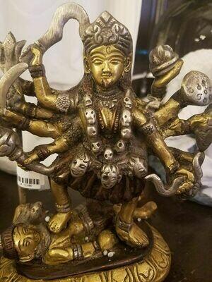 Goddess Kali Brass Statue -India(ON Sale) Regular $269.95