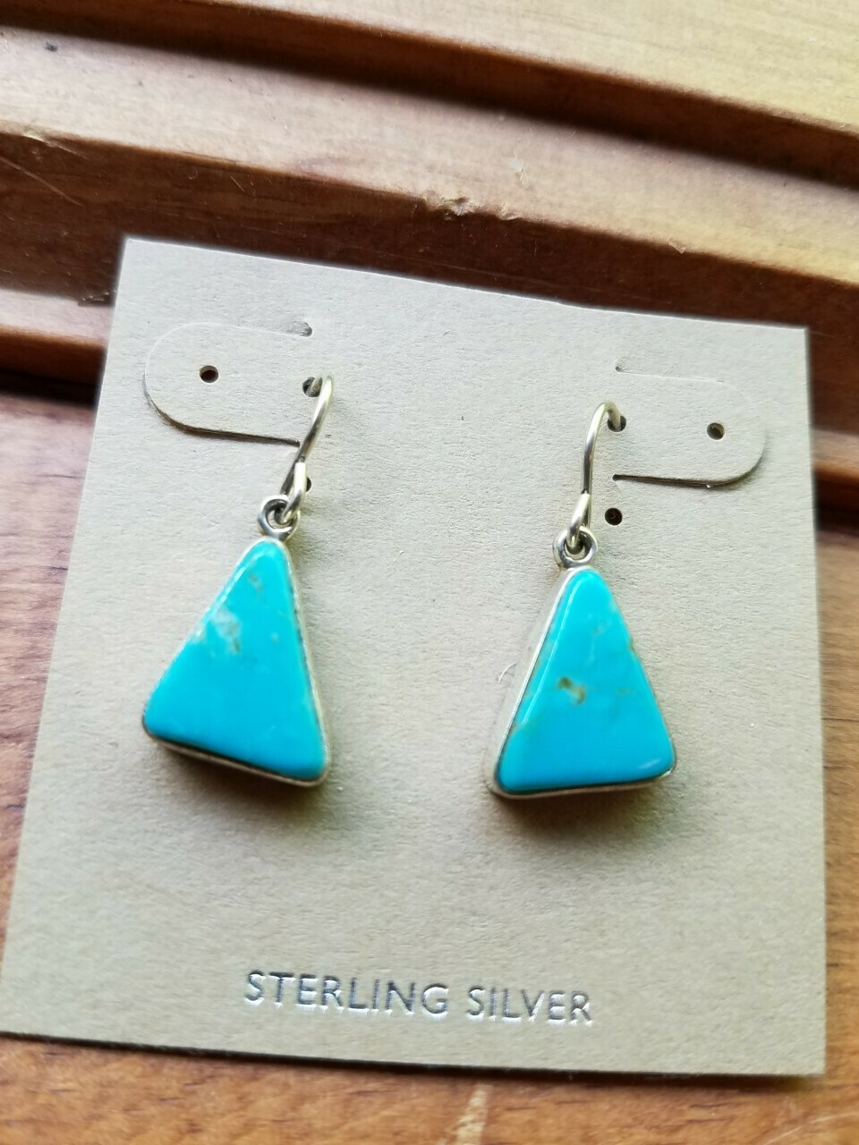 Turquoise Sterling Earrings-New Mexico(ON SALE) Reg $ 185.95