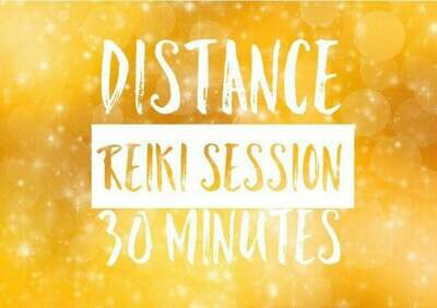 Distance (Remote) Reiki Individual Session-30 Minutes