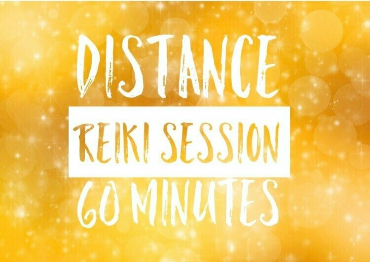 Distance (remote) Reiki Individual Session-60 Minutes