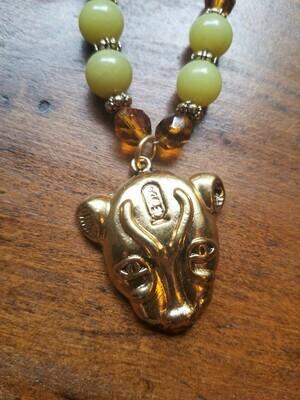Bastet Beaded Necklace(ON SALE) Reg $ 72.95