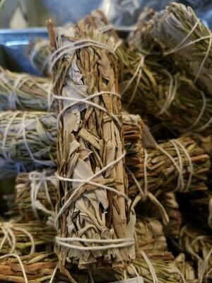 Smudge Bundle Sage & Rosemary -One small bundle