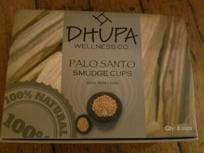 Palo Santo Smudge Cups (6 per pkg)