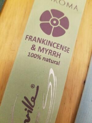 Incense Natural Maroma- (2 pack) Frankincense/Myrrh & Lavender /Rosemary