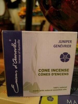 Incense Cones Maroma- Juniper