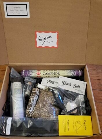 "Shippable Box- ""Protection"""