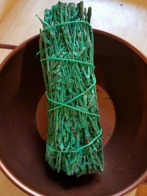 Smudge Bundle Mountain Sage & (Patchouli -scented)-approx 4
