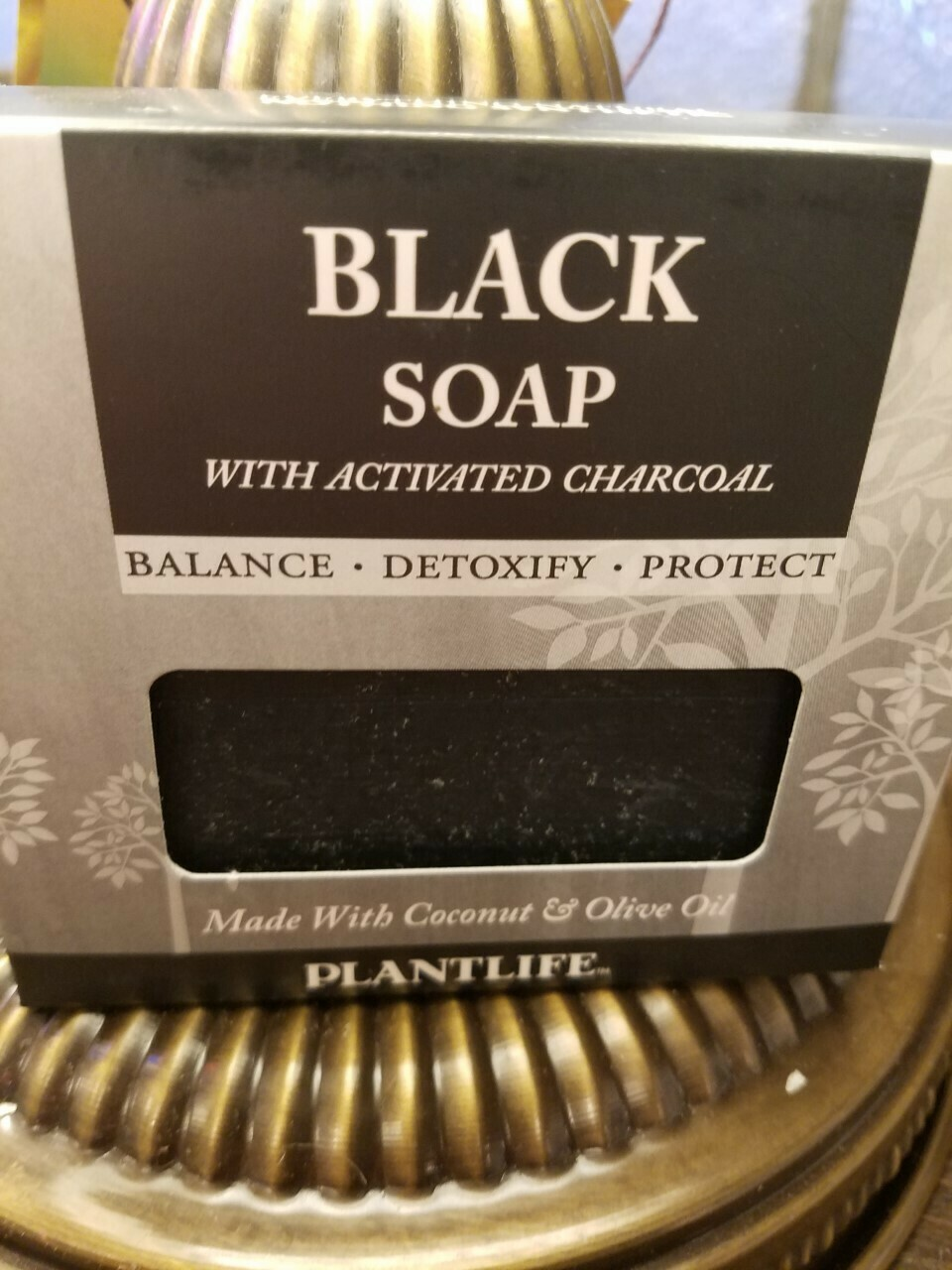 Soap Black -Made in the USA.