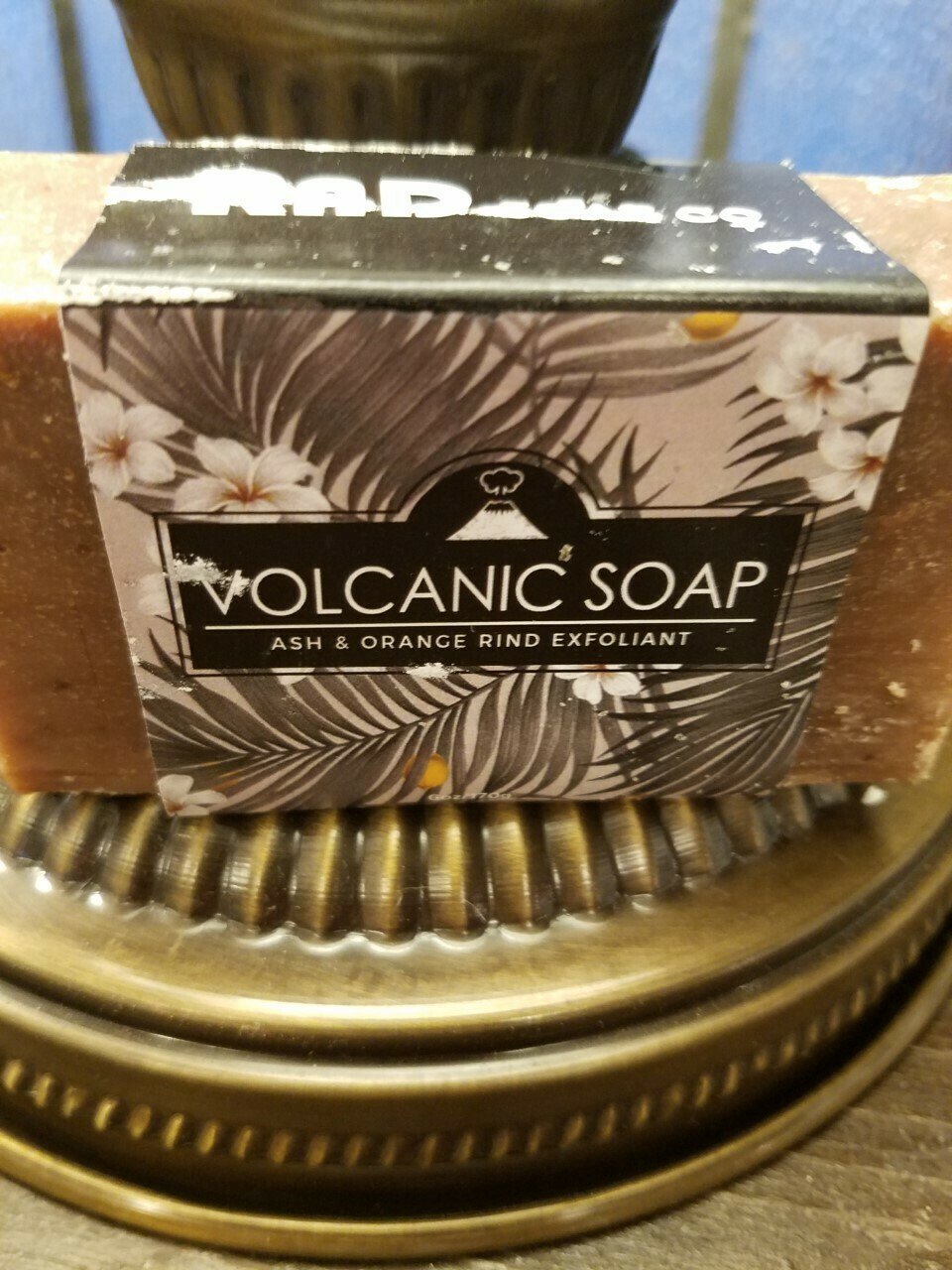 Soap RAD Volcanic -(Ash & Orange) Made in N.Y.