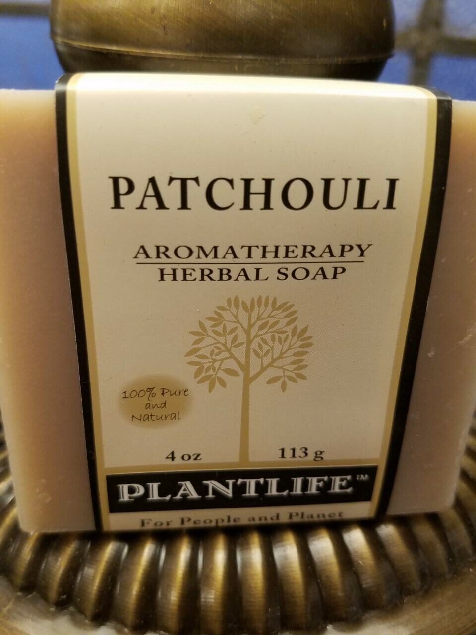 Soap Patchouli -Made in the USA.