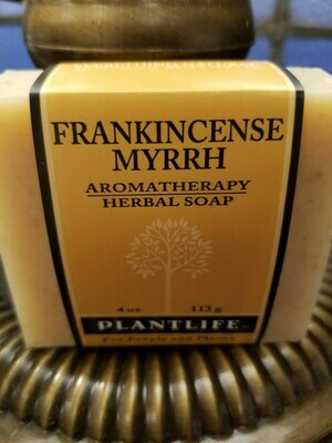 Soap Frankincense/Myrrh -Made in the USA.